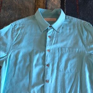 5a27fce8 Men's turquoise button down